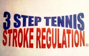 Three Step Tennis Stroke Regulation