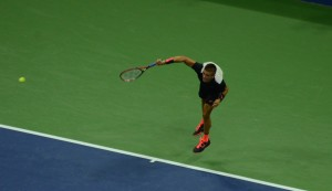 Borna Coric (*1996 / CRO) - Serve - follow through - 2015 US.Open - NYC / USA