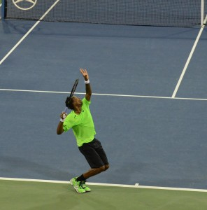 Gael Monfils (*86 / FRA) - Serve - 2014 US.Open - NYC