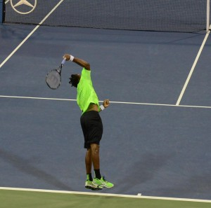 Gael Monfils (*86 / FRA) - Serve 2014 US.Open - NYC