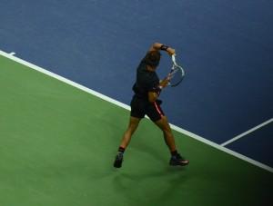 Rafael Nadal (*86 / ESP) - Forehand - 2015 US. Open - NYC / USA